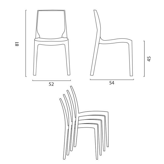 Vierkante tafel 70x70 cm Stalen onderstel en zwart top met 2